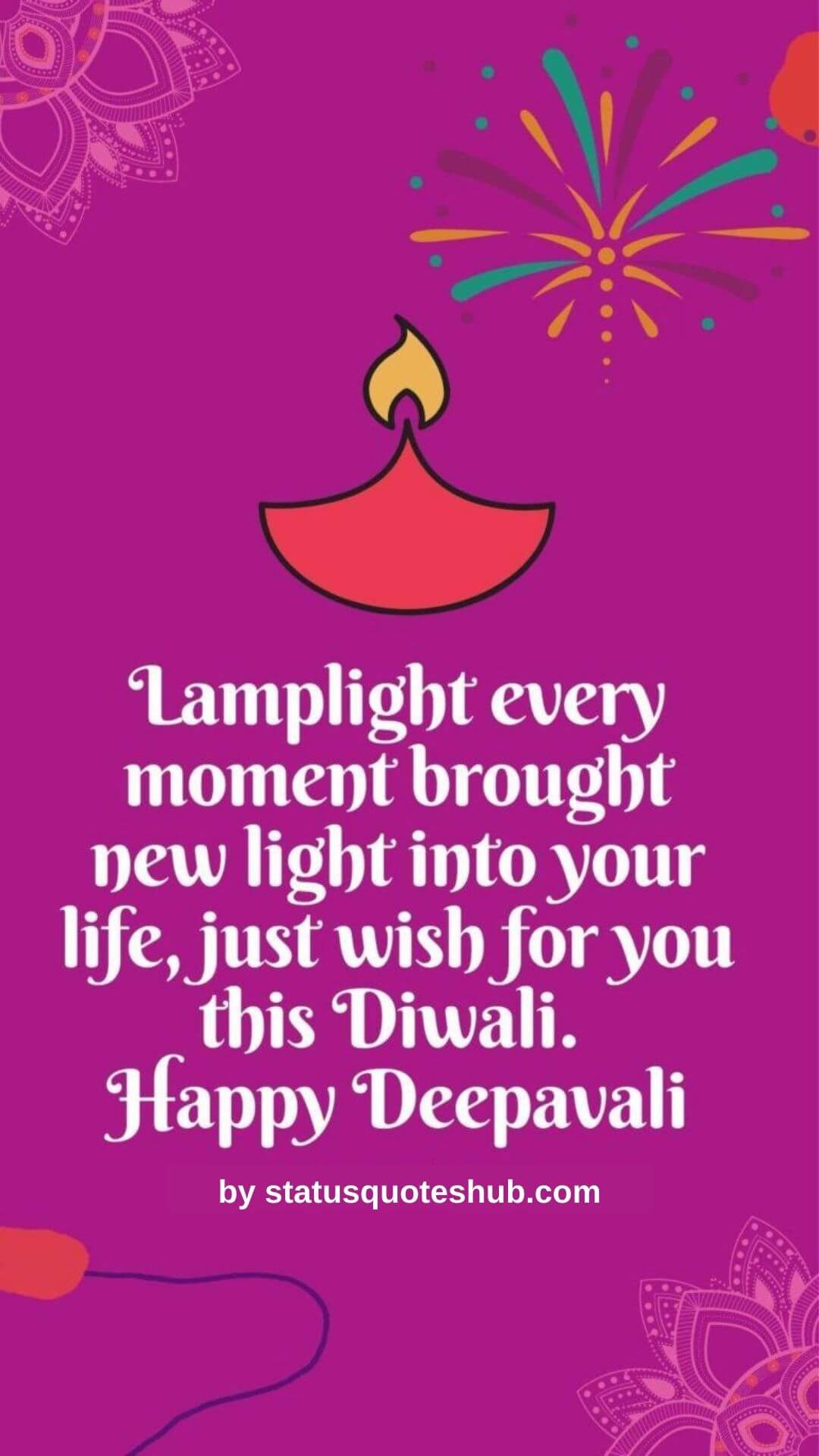 Happy diwali wishes and status