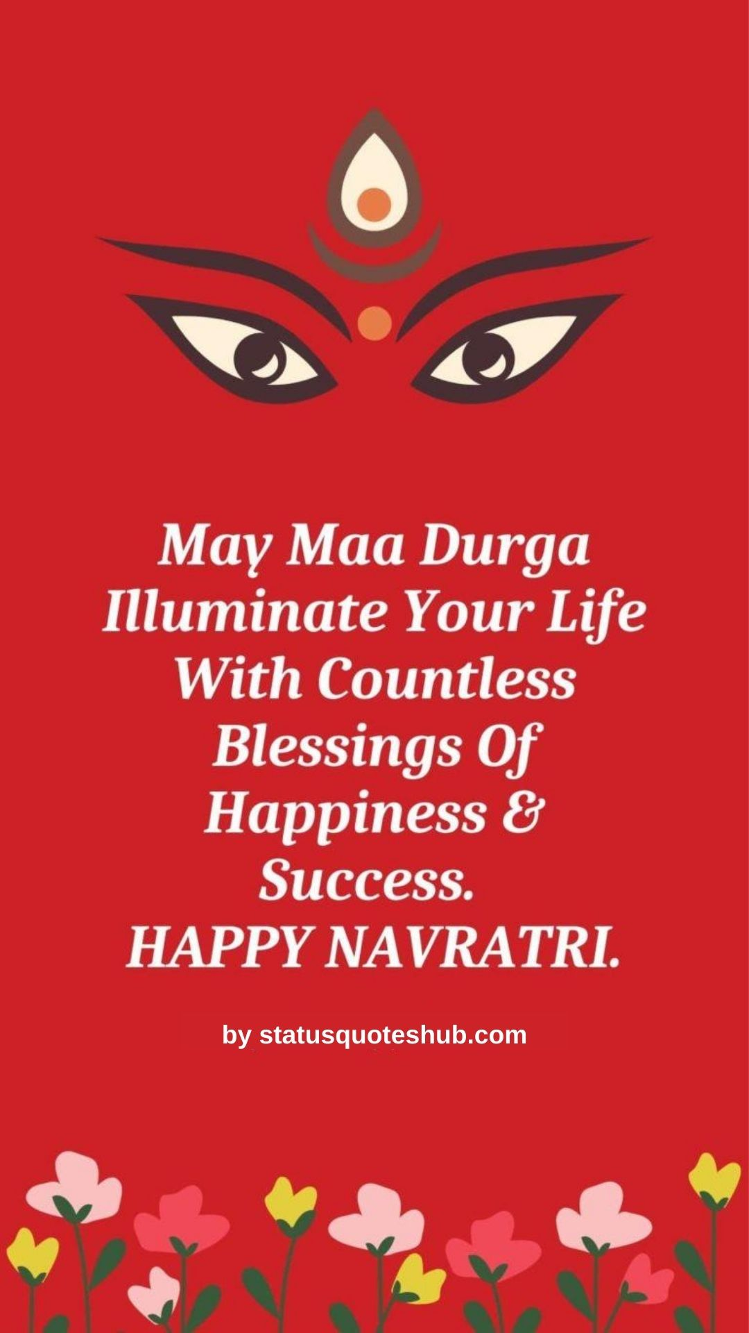 Navratri quotes and status