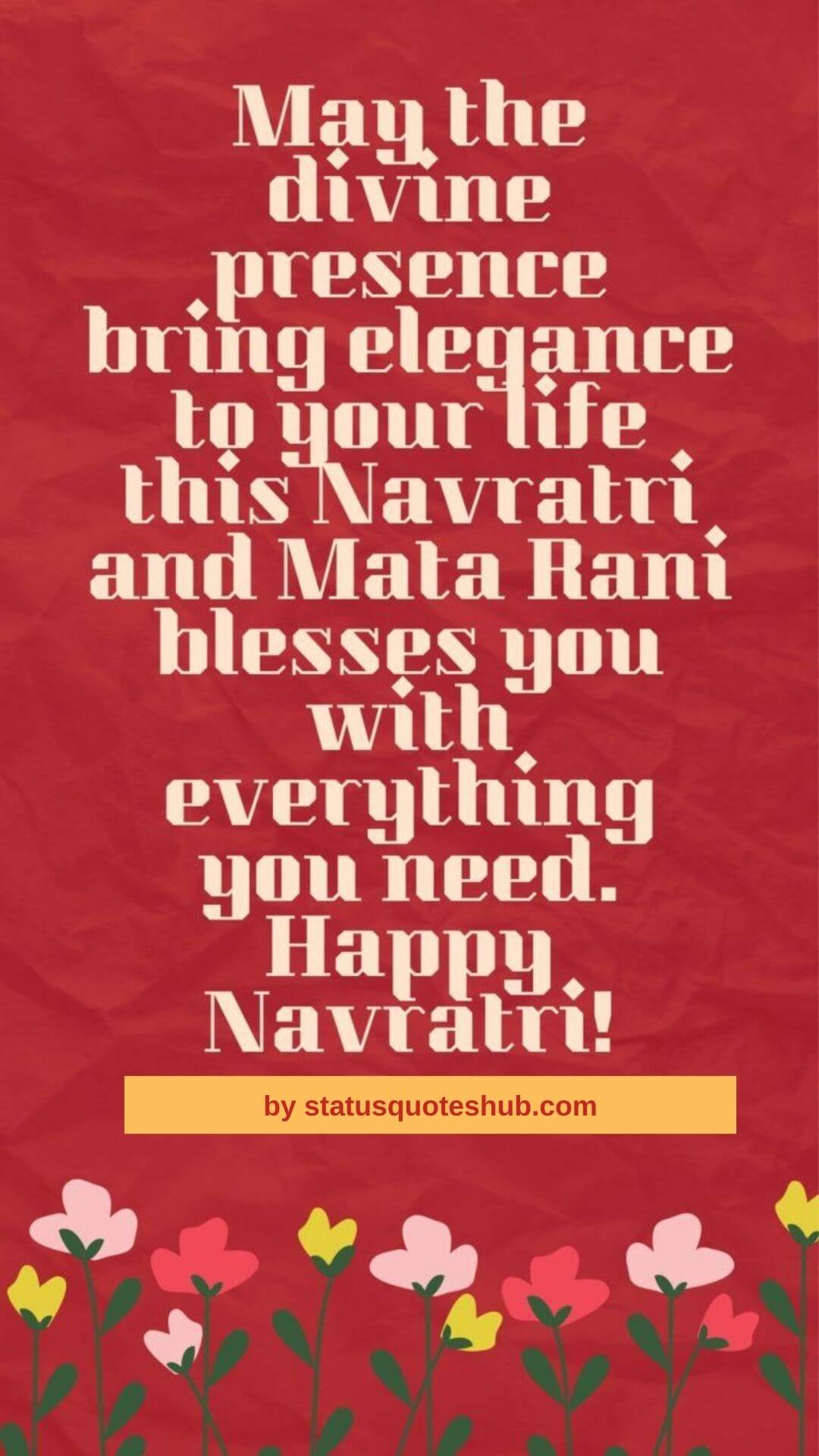 Navratri quotes and wishes