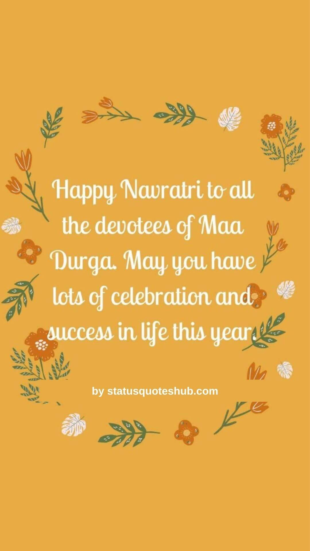 Navratri wishes and status