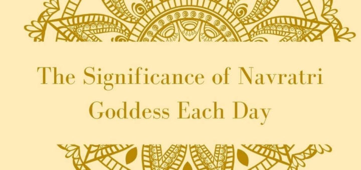 The Significance of Navratri Goddess Each Day