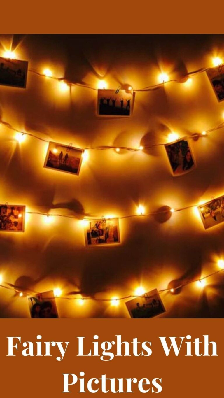 Fairy Lights With Pictures
