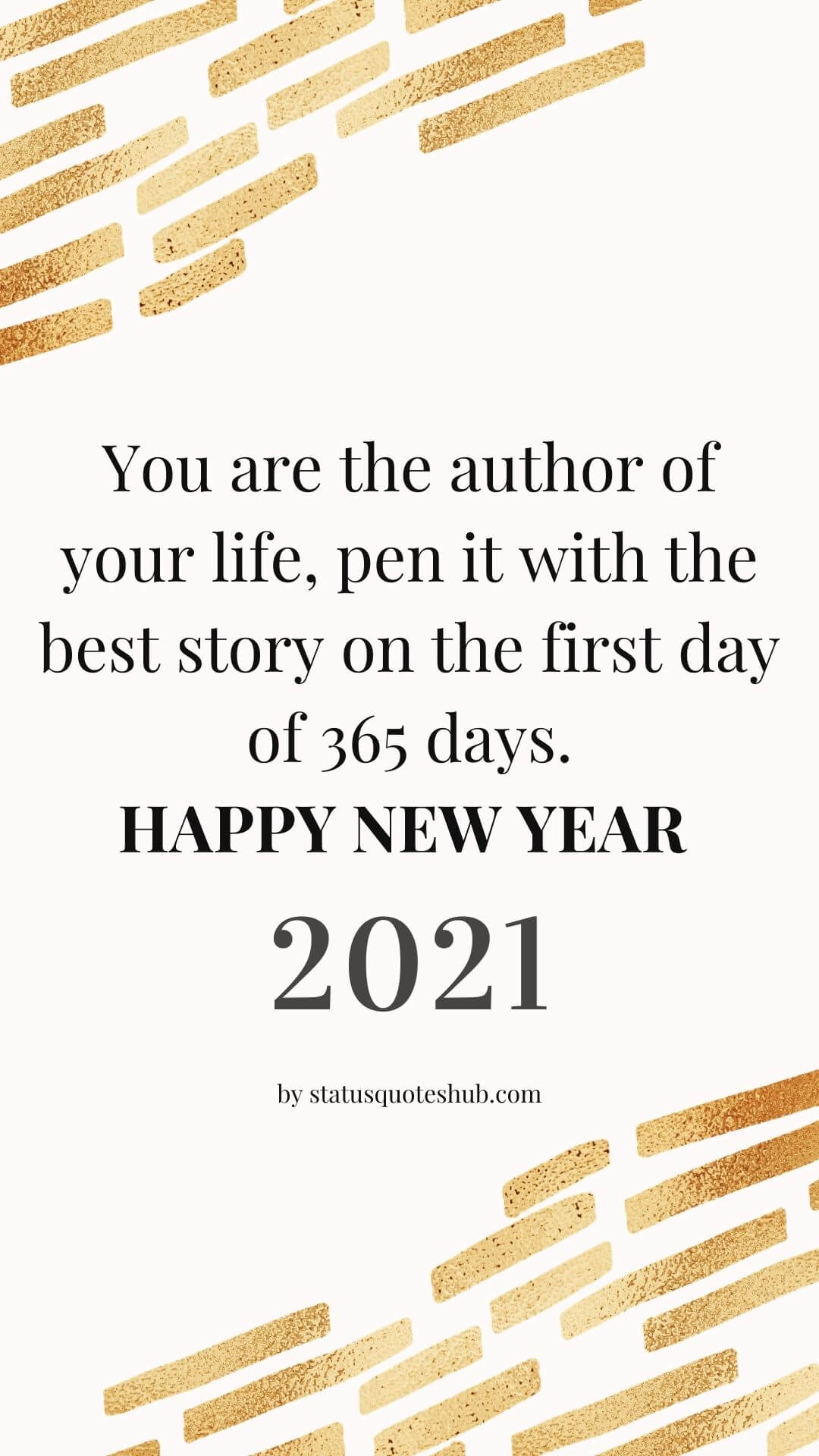 New Year quotes and status