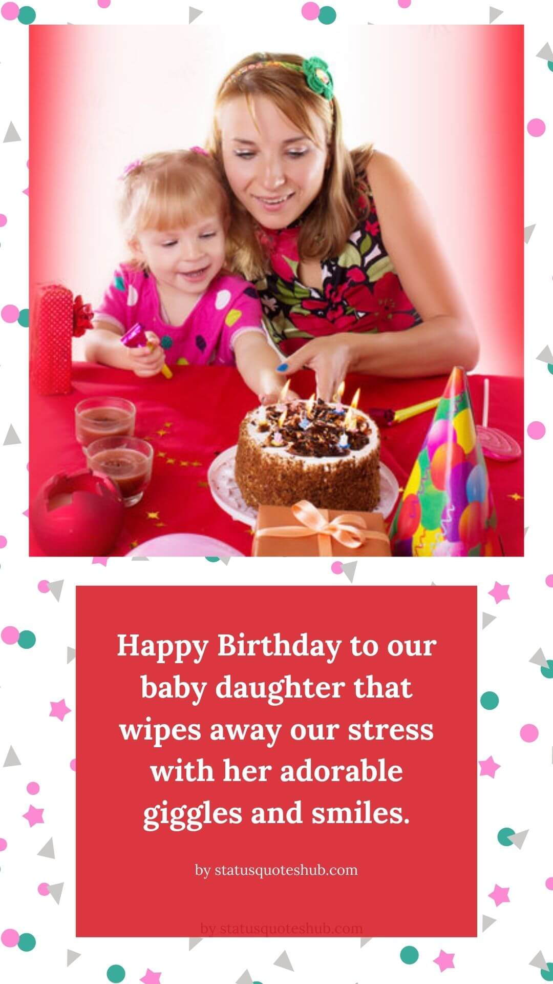 Quotes for baby girl birthday