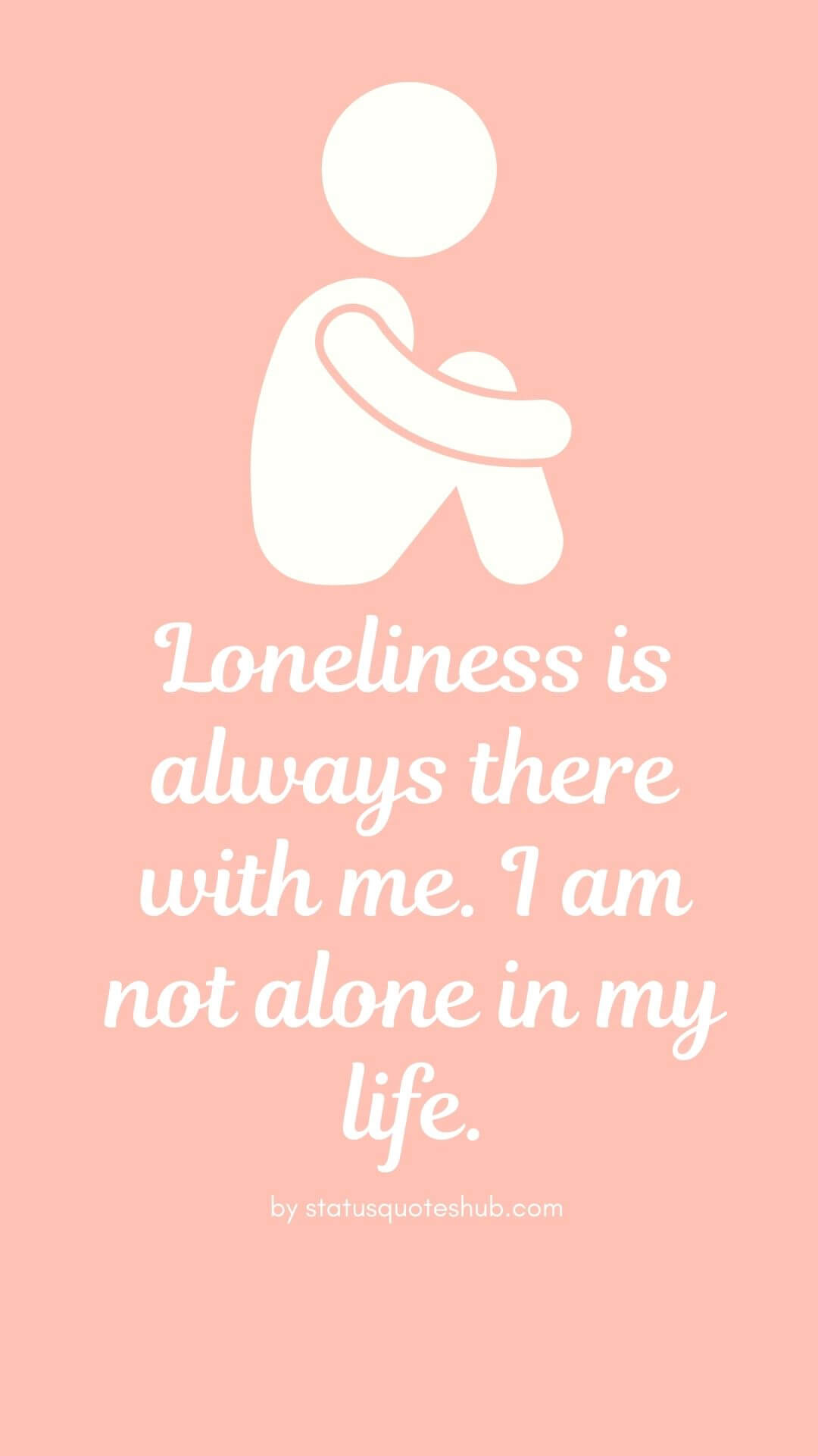 quotes and status for alone