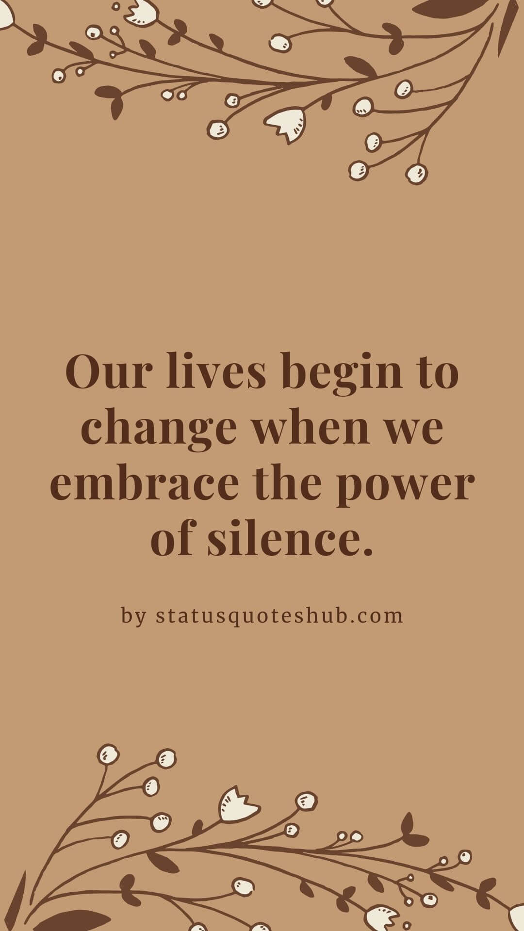 relationship quotes about silence