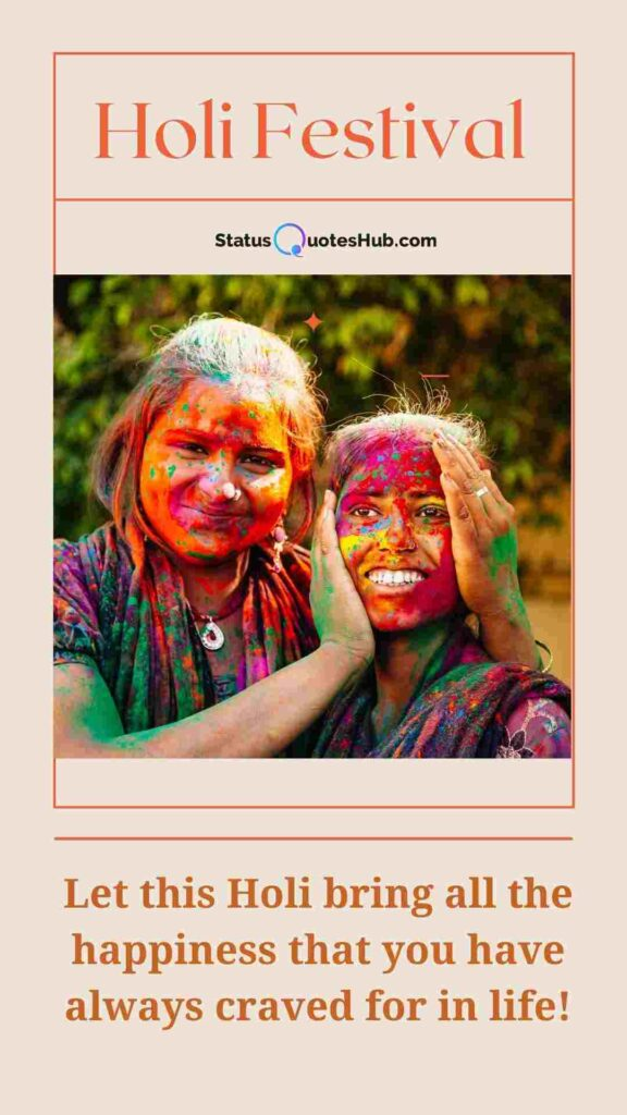 Funny Holi Captions