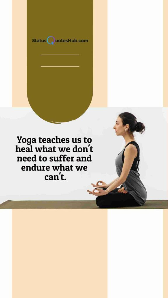 yoga quotes about peace