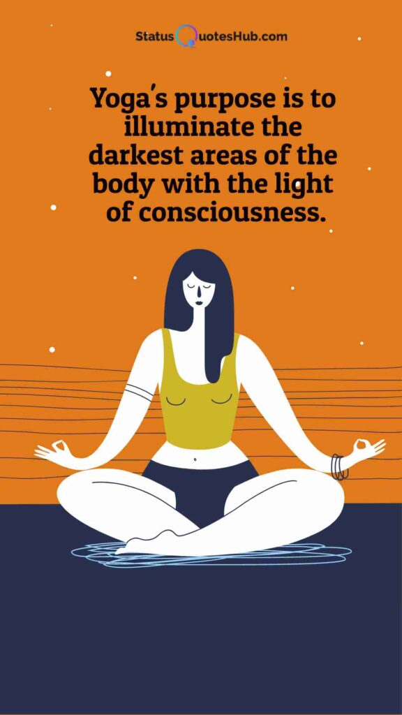 yoga quotes and status