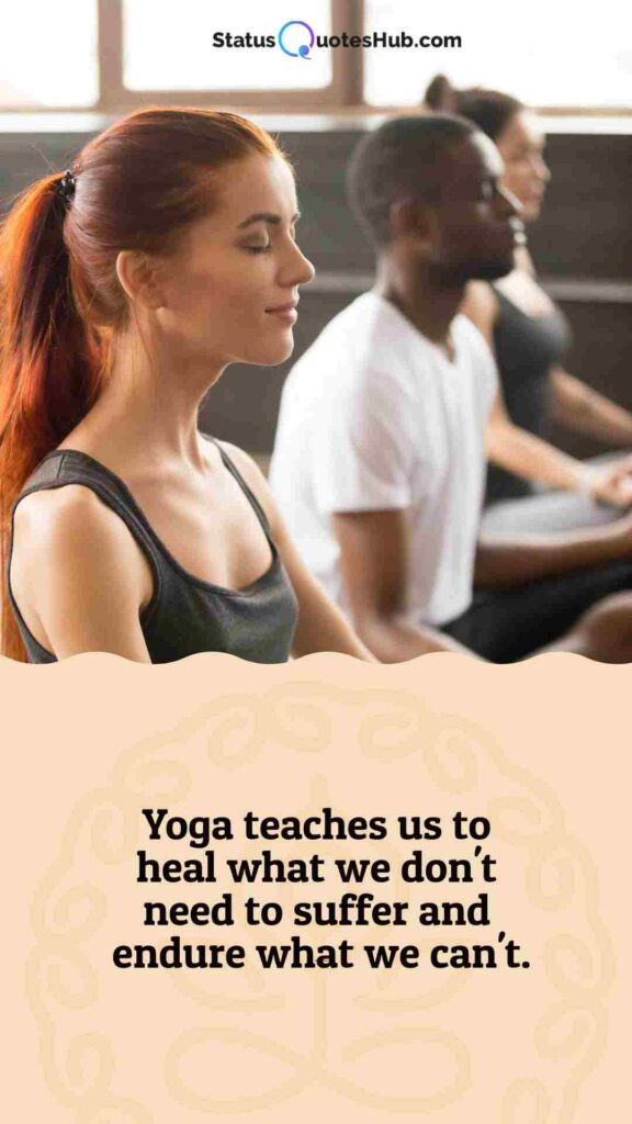 yoga quotes for students