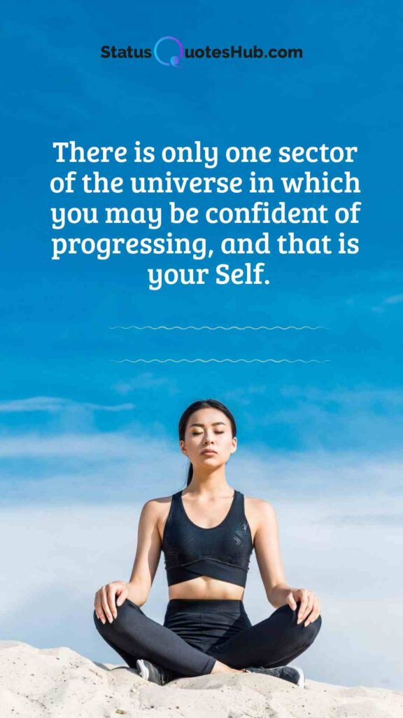 Yoga quotes and status on peace