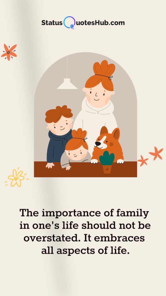 best and unique family quotes