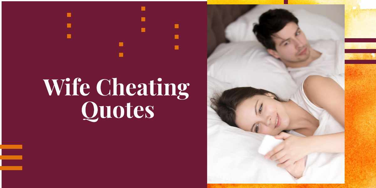 wife cheating quotes